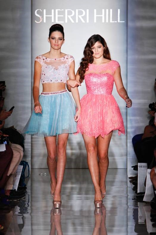Two Jenners Are Better Than One: Sherri Hill at NYFW '12